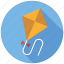flight, flying, kite, playing, toys icon