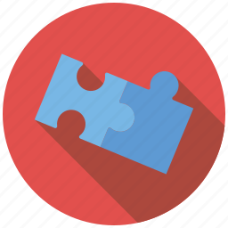 game, jigsaw puzzle, playing, toys icon