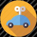 car, key, playing, toys, vehicle, windup toy icon