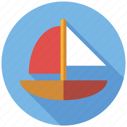 boat, playing, sail, sail boat, sailing, ship, toys icon