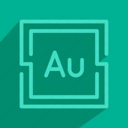 adobe, audition, program, tool icon
