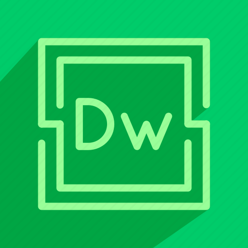 adobe, code, design, dreamweaver, web icon