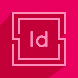 adobe, art, design, dtp, editorial, indesign icon