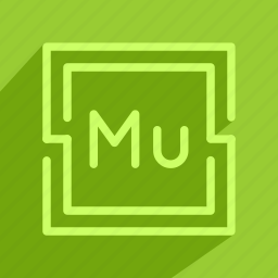 adobe, muse, program, tool icon