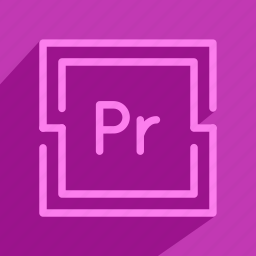 adobe, edit, premiere, pro, tool, video icon