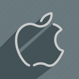 apple, computer, fruit, ios, macintosh, operating, system icon