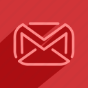 chat, email, gmail, letter, mail, message, talk icon