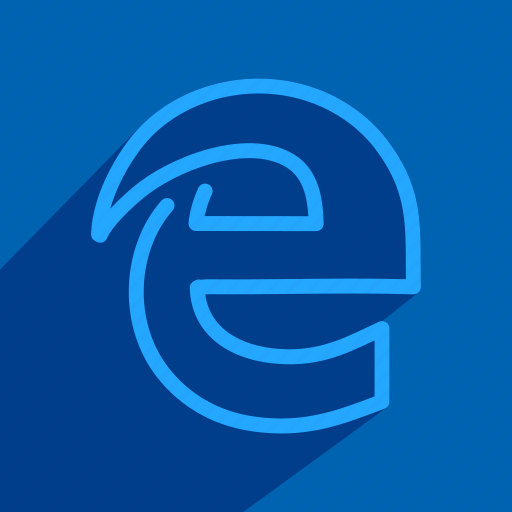 browser, edge, internet, microsoft, online, web icon