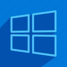 microsoft, operating, system, windows icon