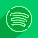 audio, multimedia, music, spotify, streaming icon