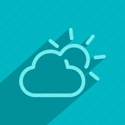 app, forecast, rain, sun, temperature, weather icon