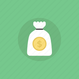 bag, banking, business, buy, cash, coin, currency, dollar, ecommerce, finance, financial, illustration, income, investment, money, payment, profit, shop, shopping, wealth icon