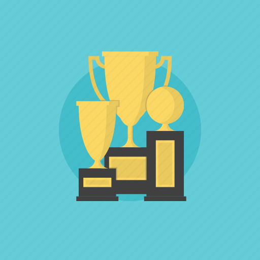 achievement, award, awards, badge, best, business, cup, illustration, leadership, medal, prize, reward, success, trophy, win, winner icon