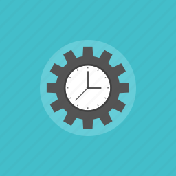 alarm, business, clock, cogwheel, communication, configuration, connection, control, gear, illustration, internet, management, marketing, network, office, options, preferences, process, settings, system, time, tool, watch, web, workflow icon