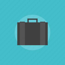 bag, brief, briefcase, business, case, illustration, investment, modern, office, portfolio, work icon