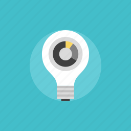 analytics, business, chart, charts, consumption, diagram, economy, electric, electricity, energy, financial, graph, illustration, lighbulb, power, report, savings, statistics icon
