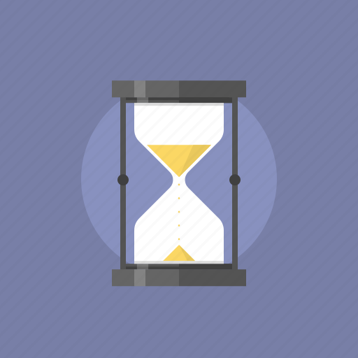 alarm, antique, business, clock, date, event, flow, hour, hourglass, illustration, management, office, sand, schedule, time, timer, wait icon