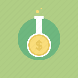 analysis, analyzing, business, growth, illustration, market, money, profit, research, test icon