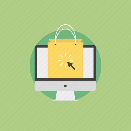 bag, business, buy, cash, click, communication, connection, ecommerce, finance, financial, illustration, internet, marketing, monitor, office, online, payment, price, retail, sale, seo, service, shop, shopping, web icon