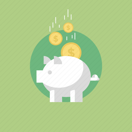 bank, budget, business, buy, cash, coins, dollar, ecommerce, economy, finance, financial, guardar, illustration, internet, money, payment, piggy, sale, save, savings, shopping, web icon