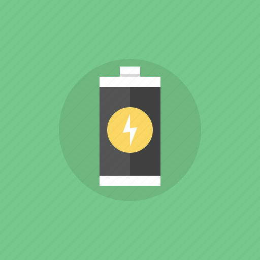 battery, cell, charge, connect, eco, ecology, electric, electricity, energy, equipment, illustration, power, rechargeable, recycle, source, supply, technology icon