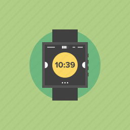 alarm, apple, clock, communication, connection, creative, device, gadget, illustration, internet, media, message, mobile, multimedia, network, new, screen, smart, smartphone, smartwatch, technology, telephone, time, timer, watch, wearable, web, wireless, wristwatch icon