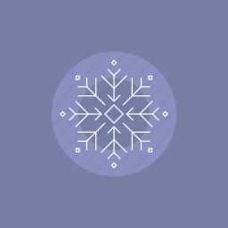 cold, flake, forecast, frozen, illustration, snow, snowflake, star, weather, winter icon