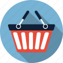 basket, cart, commerce, shopping basket icon