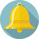 alarm, alert, bell, clock, ring, time icon