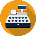 cash, cashier, machine, money, pay, register, shopping icon
