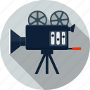 camera, cinema, film, image, media, movie, video icon