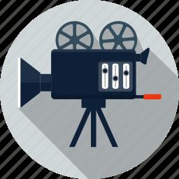 camera, cinema, film, image, media, movie, video icon