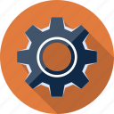 cog, cogwheel, gear, machinery, options, settings, tool icon