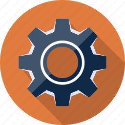 cog, cogwheel, gear, machinery, options, settings, tool icon