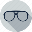 eye, eyeglasses, glasses, spectacles, study, sunglasses icon