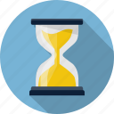 clock, hour, hourglass, loading, sand watch, sandclock, time icon