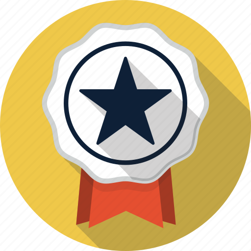 award, badge, medal, prize, ribbon, win, winner icon