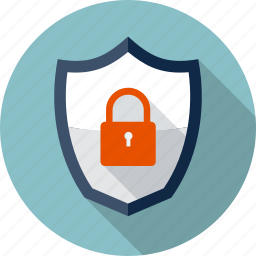 antivirus, lock, padlock, protection, safe, security, shield icon