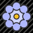 bloom, blossom, botanical, floral, flower, petal icon