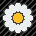 bloom, floral, flower, petal, spring icon