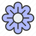 bloom, blossom, floral, flower, petal, spring icon