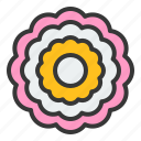 bloom, blossom, flower, peony, petal, spring icon