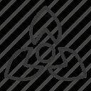 floral, flower, petal, shape, spring icon