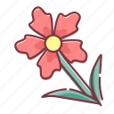 bloom, flower, plant, spring icon
