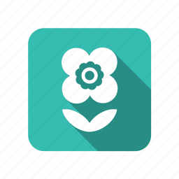 ecology, environment, flower, leaf, nature, plant icon