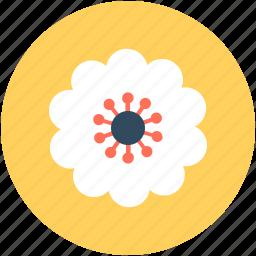 azalea, azalea flower, bloom, floral, flower icon