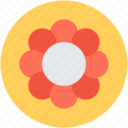 bloom, blooming, decorative flower, flower, nature icon