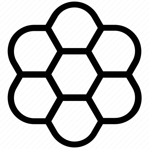 decor, design, flower, flower shape icon