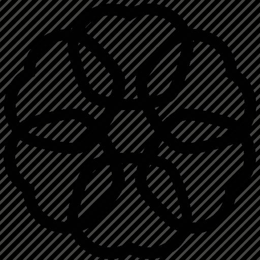 artwork, creative, design, flower shape, graphic icon