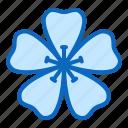 blossom, flower, geranium, nature icon